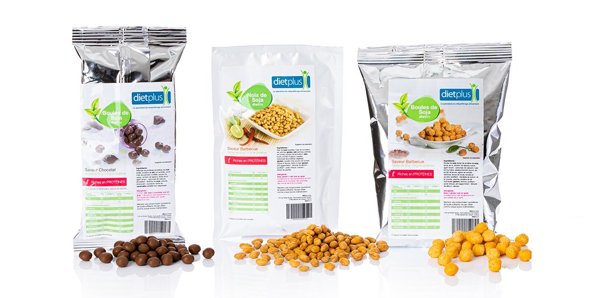 Les solutions dietplus: les boules de soja