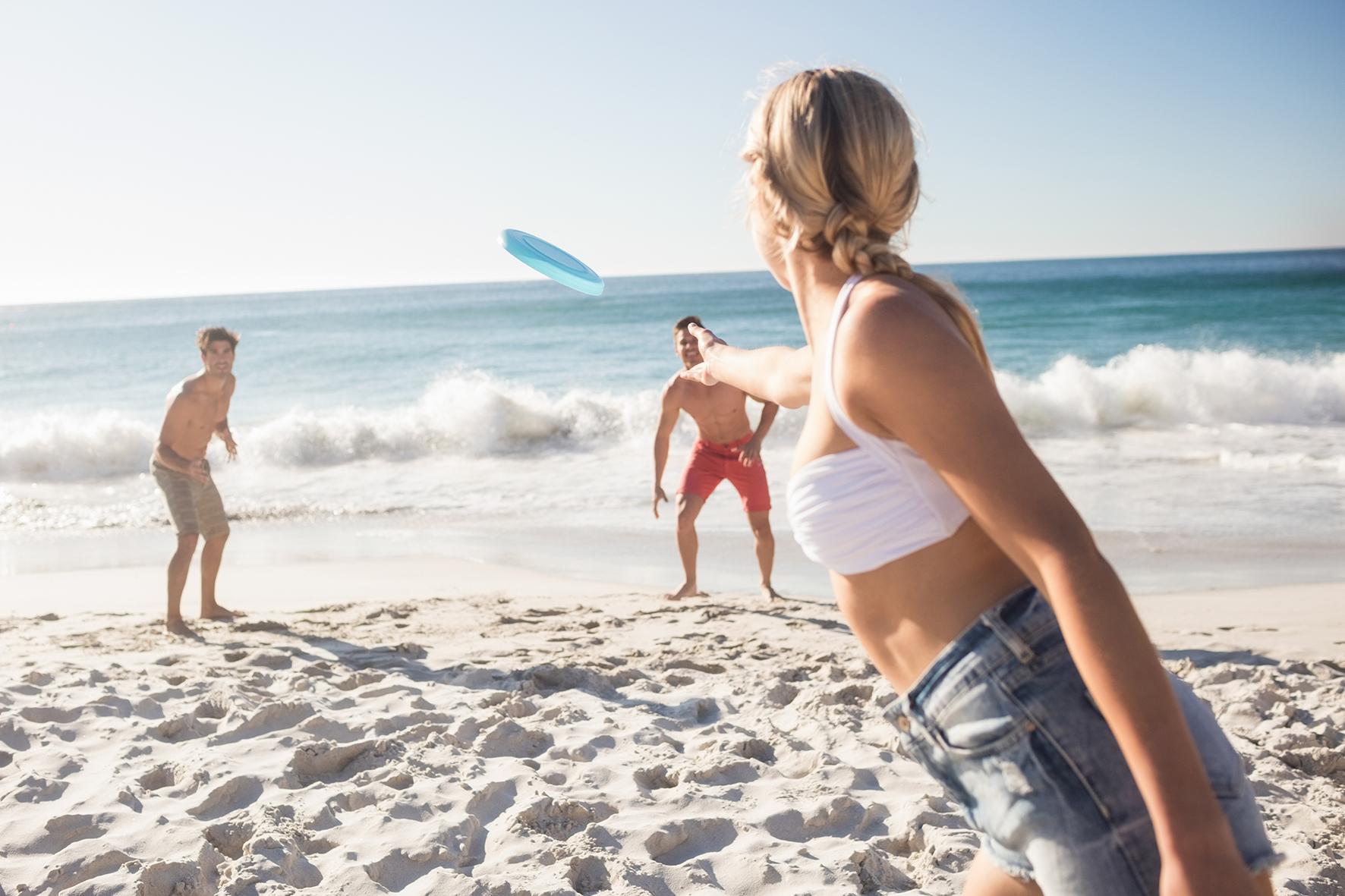 La plage, cet incroyable terrain de jeu!